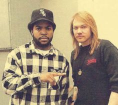 #IceCube  #AxelRose #GnR  Wow...  20 Photos Of Amazing People In History - Page 9 of 20 - flipopular