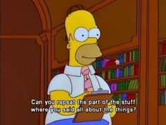 Sometimes this is me in class