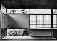 arqvac: Tange Residence in Tokyo, Japan by Kenzo Tange