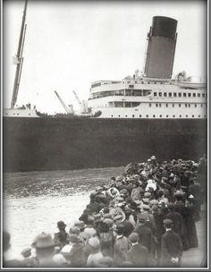 the start of her maiden voyage. Titanic