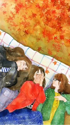 Read Girl art from the story Galeri Vector & Gambar Mentahan by la_flz (HIATUS) with reads. Best Friend Drawings, Bff Drawings, Aesthetic Art, Aesthetic Anime, Cover Wattpad, Character Art, Character Design, K Wallpaper, Arte Sketchbook