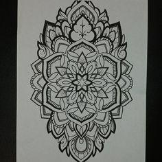 Custom mandala style design. This and many more available..!#mandala #mandalatattoos #henna #hennatattoos #floraltattoos #flowertattoo #geometrictattoo #tattooedgirls #dotwork #karma #creation #ohm #balance #meditation #art #tattoos #Seattle #Everett #Edmonds #Lynnwood #seatlletattooers #pnw #tattooer #artist #goodkarmatattoo