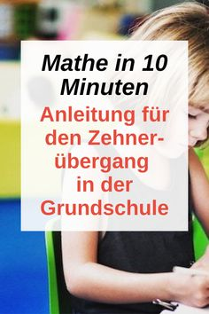 Ten transition made easy - Instructions for the transition of ten in primary school. Math in 10 minutes. For a well-founded un - Montessori Education, Primary Education, Elementary Education, Music Education, Kids Education, Primary School, Special Education, Education Banner, Maths Puzzles