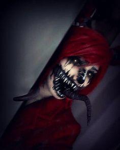 Amazing cosplay of Nightmare Foxy.