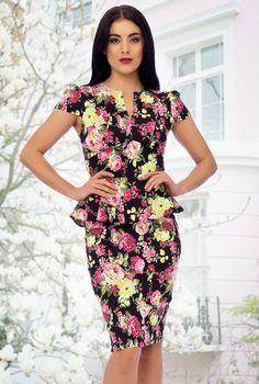 floral dress chic - Google Search