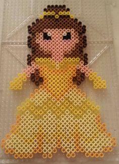 Belle disney princess perler bead pattern by Amy Lynn