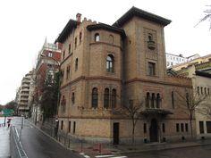 Palacetes de Madrid: CASA PALACIO DE DON GUILLERMO DE OSMA_ C/Fortuny, 43 c/v Paseo de Eduardo Dato.  Enrique Fort, 1889.  Actual Museo e Instituto Valencia de Don Juan.