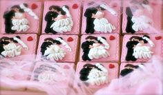 Bride Groom Cookies Wedding