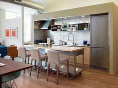 20 Genius Small-Kitchen Decorating Ideas - Freshome.com