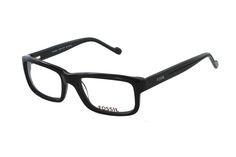FOSSIL Hannibal OF 2101 001 Brille in schwarz | Brillen von Fossil besitzen viele Highlights.  Die ausdrucksstarke, moderne Vollrandbrille im dezenten Style setzt formschöne Masstäbe, ohne aufdringlich zu wirken.  Die Brillenbügel schmiegen sich harmonisch ins Gesamtbild...