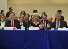 Secretary Sebelius joins global health leaders for the Global Health Security Launch Event. Learn more: http://www.hhs.gov/secretary/about/blogs/global-health-security.html.