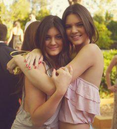 Kylie Jenner. Kendall Jenner.