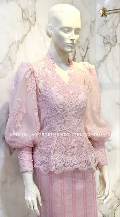 Model Kebaya Muslim, Model Kebaya Modern, Muslim Dress, Kebaya Hijab, Kebaya Dress, Dress Pesta, Hijab Dress Party, Hijab Style Dress, Gowns For Girls