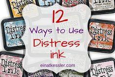 12 Ways to Use Distress Inks