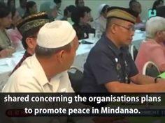 Mindanao Peace agreement signing between Catholic-Islam, Man Hee Lee bro...