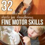 Fine Motor Skills: 30 Materials & Activities on hands on : as we grow