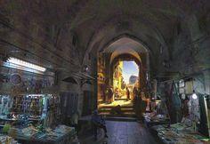 Des tableaux replacés dans Google Street View by Shystone
