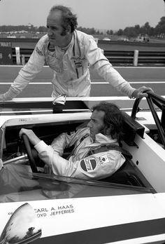 1971 Can-Am, Mid-Ohio : Sir Jackie Stewart & Denny Hulme (ph: historyofracing.com)