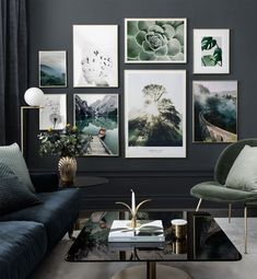 Picture wall with elegant motifs inspired by nature - Posterstor . - Wandgestaltung - Picture wall with elegant motifs inspired by nature – Posterstore. Decor Room, Wall Art Decor, Bedroom Decor, Wall Of Art, Framed Wall Art, Dinning Room Wall Decor, Frames On Wall, Photo Wall Art, Picture Wall Living Room