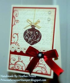 QFTD35 - Elegant Joy by Princessheather - Cards and Paper Crafts at Splitcoaststampers