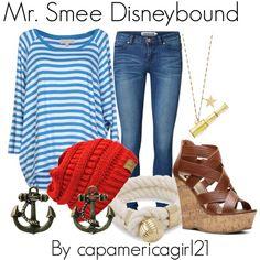 Mr. Smee Disneybound. By capamericagirl21