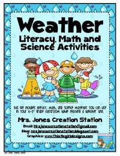 Weather Literacy. Math and Science Activities (1st grade)