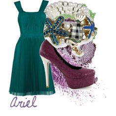 """Ariel"" by mitomana on Polyvore"