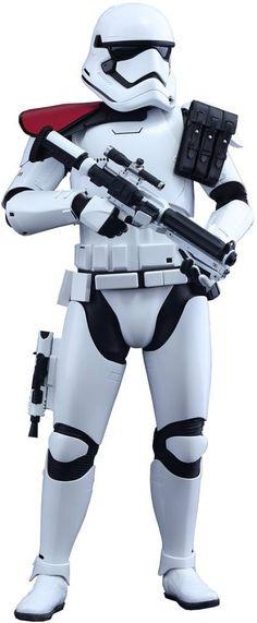 Star Wars Episode VII Movie Masterpiece Action Figure 1/6 First Order Stormtrooper Officer 30 cm