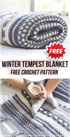 Easy Crochet Blanket, Afghan Crochet Patterns, Knitting Patterns, Crocheted Afghans, Crocheting Patterns, Crochet Blankets, Knitting Ideas, Wool Blanket, Free Knitting