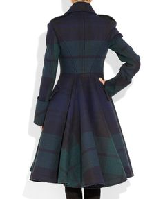 McQ Alexander McQueen | The Black Watch plaid coat | NET-A-PORTER.COM