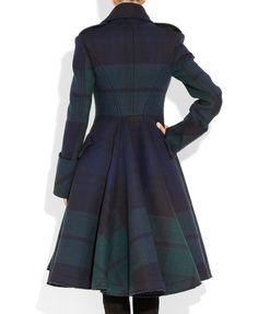 McQ Alexander McQueen | The Black Watch plaid coat | NET-A-PORTER.COM