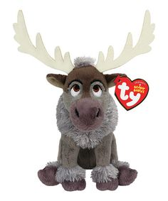 Another great find on #zulily! Frozen Sven Beanie Baby #zulilyfinds