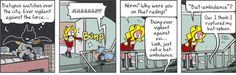 GoComics.com - Your source for the best online comic strips around. - My Cage: Norm spoofs Batman