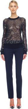 http://stylecom.shopstyle.com: Michael Kors Cashmere Paillette Sweater