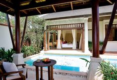 pool villa suite at Melati Beach Resort & Spa, Koh Samui,Thailand - my fave place in the world