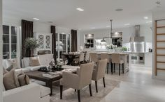 "Se fler bilder ifrån huset     New England hus A3075  ""Alla familjer är olika New England Style, Rustic Chic, Home And Family, Cottage, Indoor, Living Room, Kitchen Inspiration, Newport, Table"