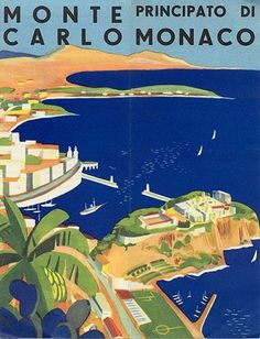 Monte Carlo 1932 by Adolphe Mouron CASSANDRE