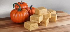 Pumpkin Pie Fudge from Culinary Apple. A taste of autumn mixed with love in Papa Dave's kitchen. Real pumpkin and pumpkin pie spices combined in a rich, creamy fudge for a flavor sure to remind you of a slice of pumpkin pie. Try our pumpkin pie fudge plain or with walnuts.