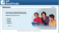 AR Book Finder - Sorted by Lexile Level http://www.arbookfind.com/UserType.aspx