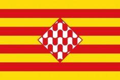 Bandera de la Provincia de Gerona