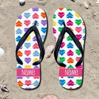 Kick back after a game with these great flip flops! Fun and functional flip flops for all lacrosse players.