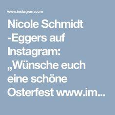"""Nicole Schmidt -Eggers auf Instagram: """"Wünsche euch eine schöne Osterfest www.imeinklang-ganzheitlich.de  #ImEinklang ##gesund #erlangen #gesund #erlangen #nürnberg #augsburg…"""""""