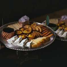 Sweet/savoury a selection of mini sweets and cookies with local cheese!  #foodlovers #dessert #cheese #event #foodpic #delicious #instagram #chefsofinstagram #yum #hungry #italy #photooftheday #sweet #eat