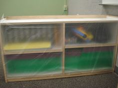 Keeping your classroom neatly organized and dust free when packing up for the summer!