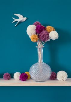 Déco : DIY-Bouquet-pompon