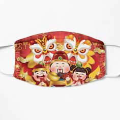Chinese Holidays, All Holidays, Chinese New Year, Mid Autumn Festival, Lions, Coin Purse, Colorful, Wallet, Art Prints