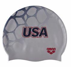 arena swimwear usa | silver 70 arena usa swimming silicone cap brand arena product