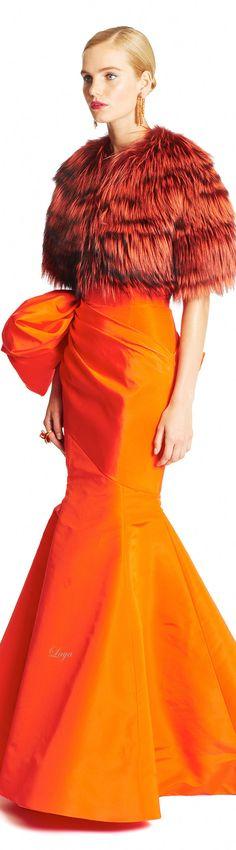 Fashion Show: Нарядные платья из коллекции Oscar de la Renta Pre-Fall 2015 Runway Oscar Dresses, Evening Dresses, Maxi Dresses, Orange Mode, Runway Fashion, Fashion Show, Fashion 2015, Fashion Trends, Oscar De La Renta