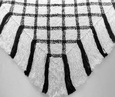 Handwoven Shawl Large Hand Loomed Woven by SticksNStonesGifts