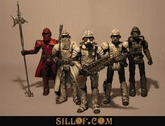 Steampunk Imperial Stormtroopers, Guards, Pilots...